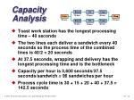 capacity analysis22
