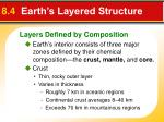 8 4 earth s layered structure