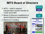 imts board of directors