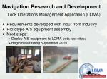 navigation research and development13