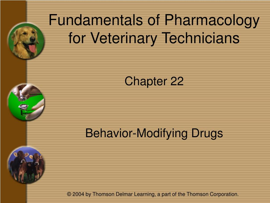 fundamentals of pharmacology for veterinary technicians l.