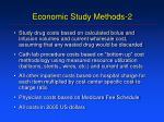 economic study methods 2