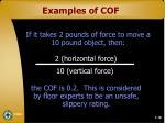 examples of cof27