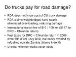 do trucks pay for road damage