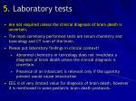 5 laboratory tests