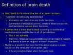 definition of brain death