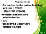 v ision 2020