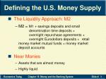 defining the u s money supply19