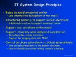 it system design principles