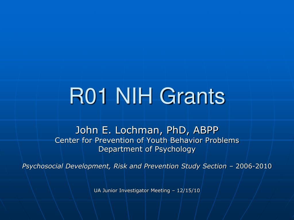 r01 nih grants l.
