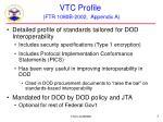 vtc profile ftr 1080b 2002 appendix a