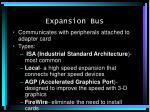 expansion bus