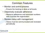 common features8