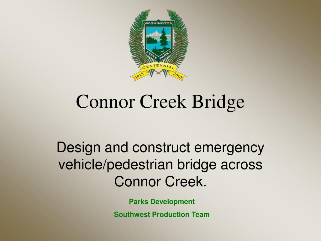 connor creek bridge l.