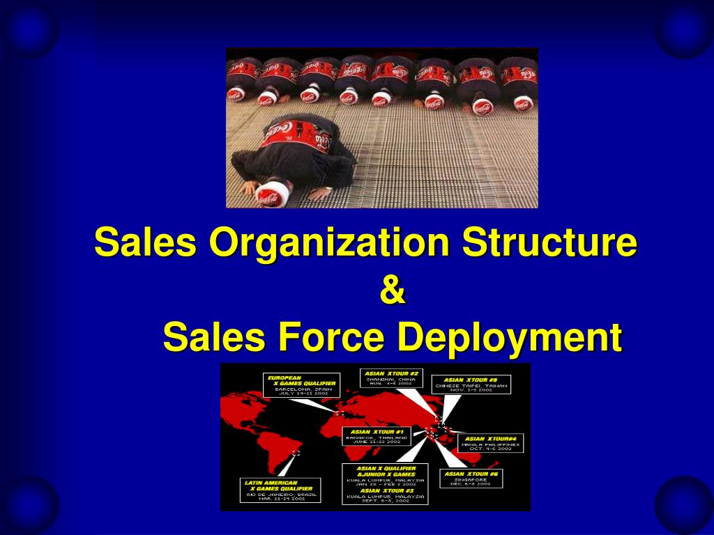 sales organization structure sales force deployment l.