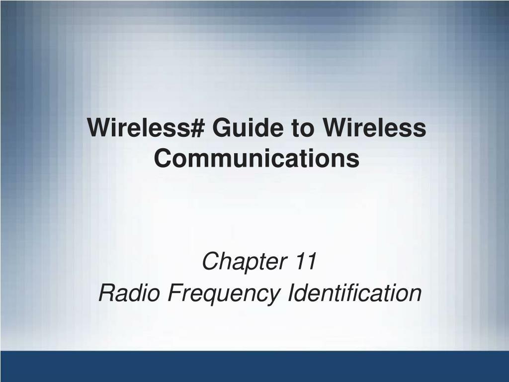 wireless guide to wireless communications l.