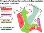 croquis d analyse l volution de la population fran aise 1999 2006
