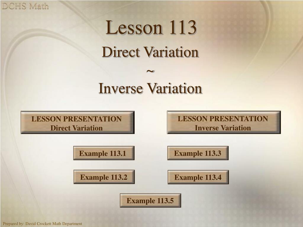 lesson 113 l.