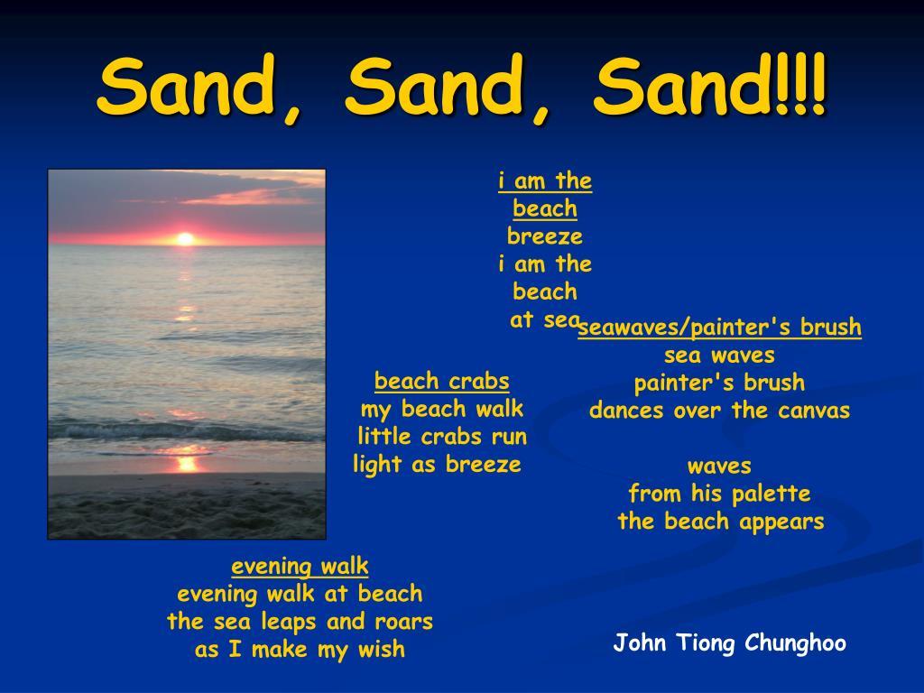 sand sand sand l.