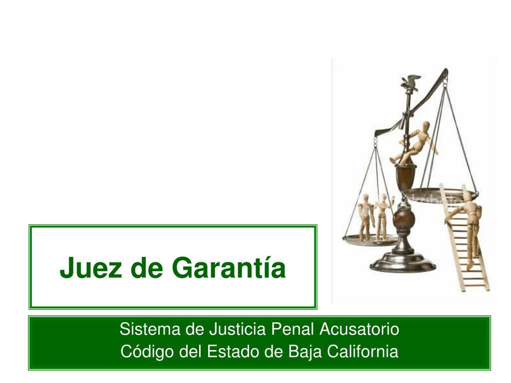 juez de garant a l.