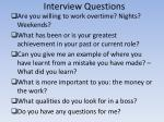 interview questions10