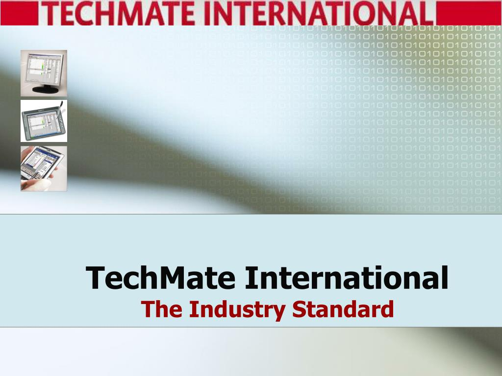 techmate international the industry standard l.