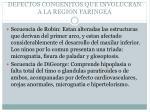 defectos congenitos que involucran a la region faringea23