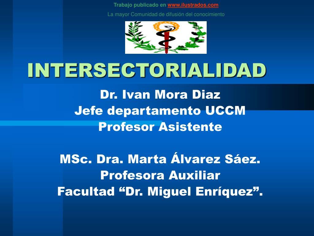 intersectorialidad l.