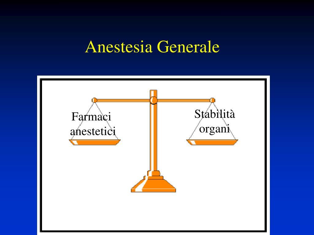anestesia generale l.