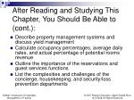 after reading and studying this chapter you should be able to cont