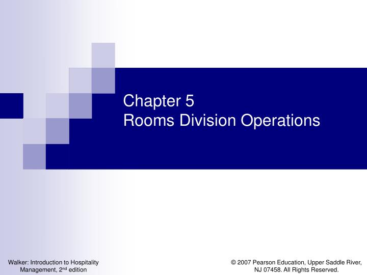 chapter 5 rooms division operations n.