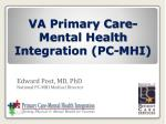 va primary care mental health integration pc mhi