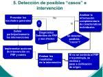 5 detecci n de posibles casos e intervenci n