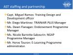 ast staffing and partnership