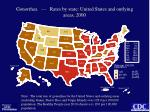 gonorrhea rates by state united states and outlying areas 2000