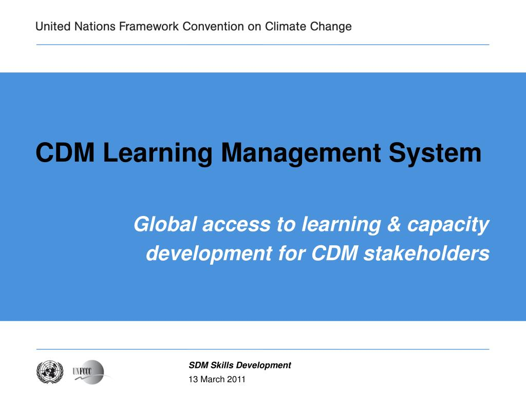 cdm learning management system l.