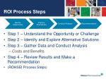 roi process steps