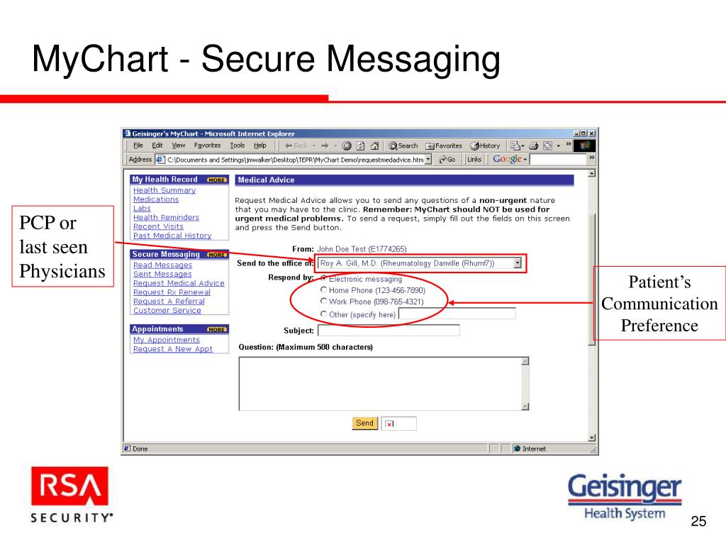 PPT - Securing Physician and Patient Portals for HIPAA