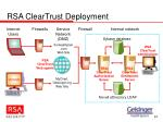 rsa cleartrust deployment
