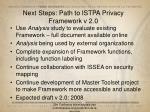 next steps path to istpa privacy framework v 2 0