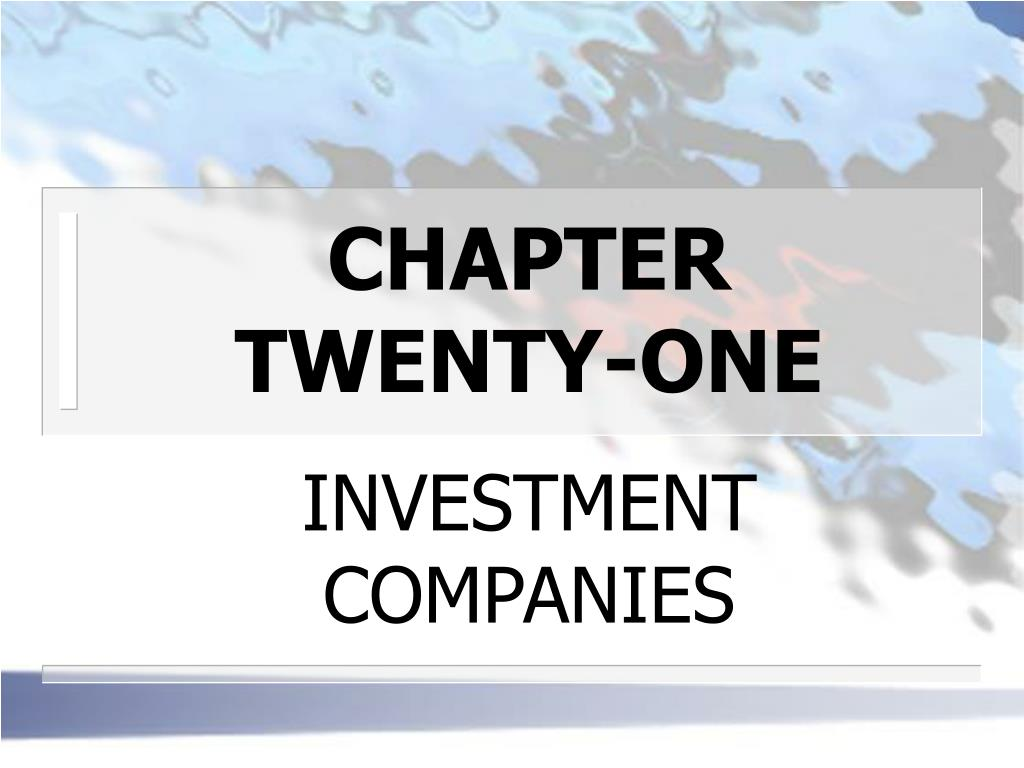 chapter twenty one l.