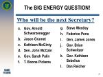 the big energy question25