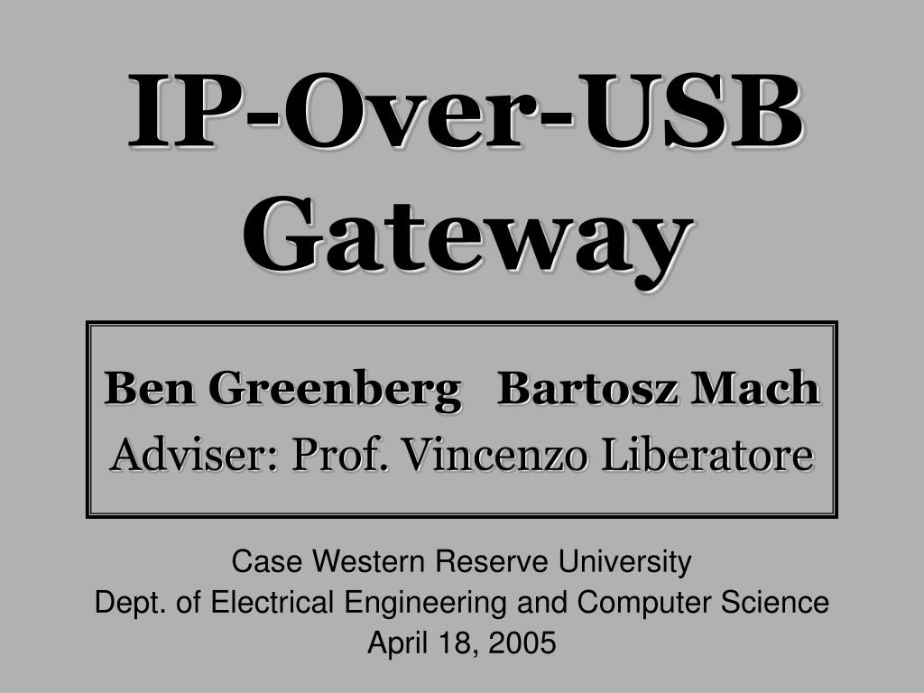ip over usb gateway l.