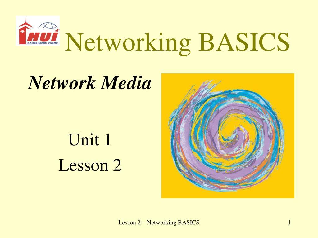 networking basics l.