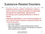 substance related disorders4