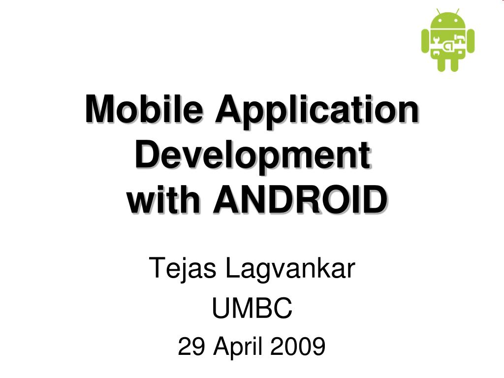 mobile application development with android l.