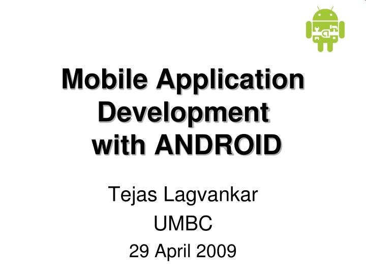 mobile application development with android n.