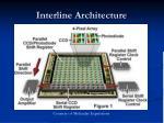interline architecture