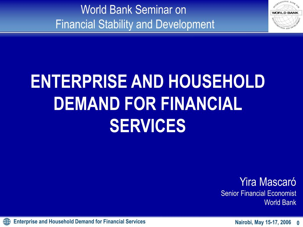 world bank seminar on financial stability and development l.