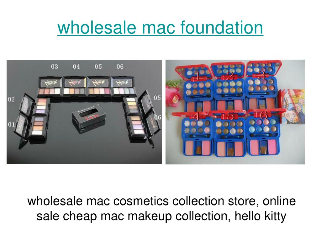 wholesale mac foundation l.